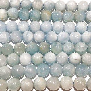 AQUAMARINE Natural Blue 8mm Round