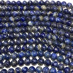 Lapis Lazuli Undyed Natural Grade B 6mm Round