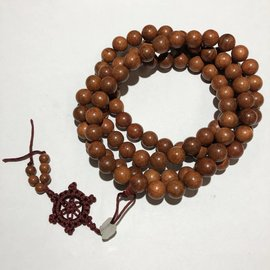 Natural Dried ROSEWOOD Beads 10mm 108 Pcs