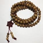 Natural Yellow Nangka Wood Beads 10mm 108 Pcs