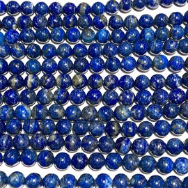 Undyed Lapis Lazuli 10mm Round