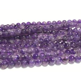 AMETHYST Grade A/B Natural 6mm Round Light
