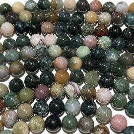 Indian AGATE Natural 10mm Round