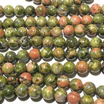 Natural UNAKITE 6mm Round