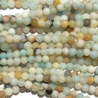 Amazonite Natural 4mm Round