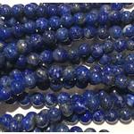 Lapis Lazuli Natural Dyed 4mm Round