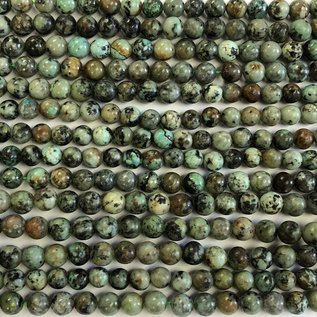AFRICAN TURQUOISE Natural 6mm Round
