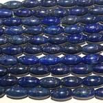 Lapis Lazuli Natural Dyed 16x8mm Rice Bead