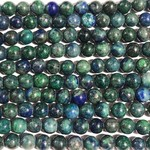 CHRYSOCOLLA Natural 6mm Round