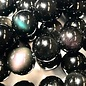 Natural Obsidian (Rainbow) Sheen 10mm Round