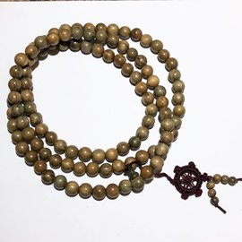 Natural VERAWOOD Beads 10mm 108 Pcs