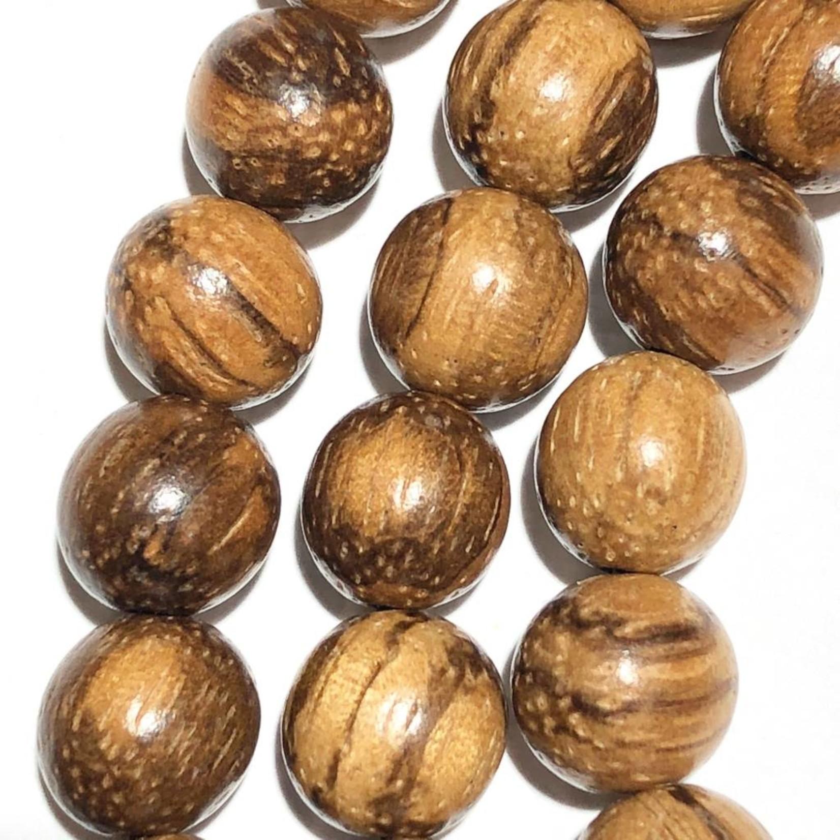 Natural Agarwood Beads 8mm 108 Pcs