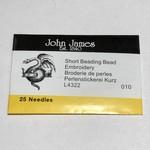 John James NEEDLES #10 Short 25/Pkg