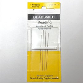 Beadsmith NEEDLES Assorted 4/Pkg