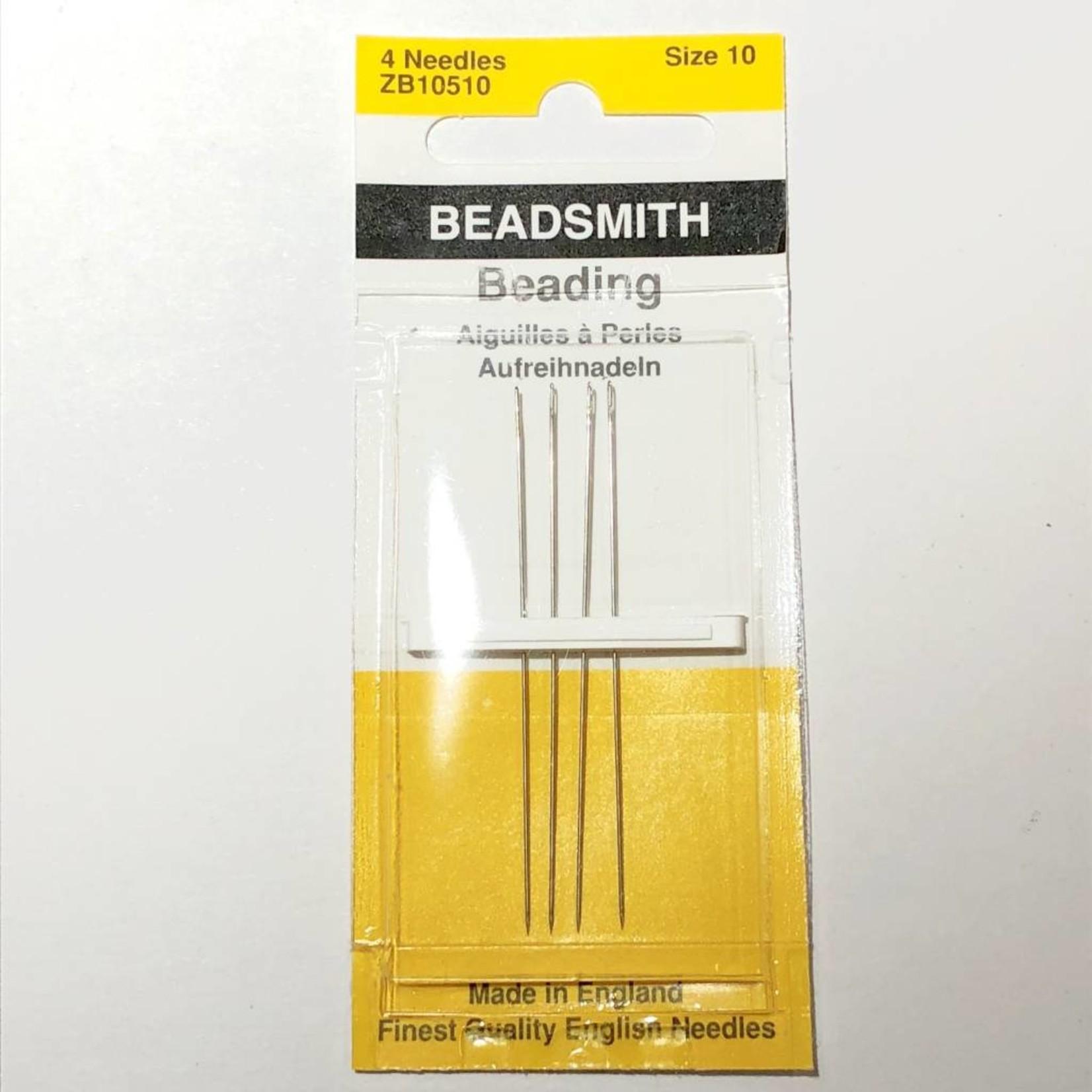 Beadsmith NEEDLES English Longs #10 4/Pkg