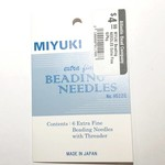MIYUKI Beading NEEDLES Extra Fine 6/Pkg
