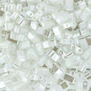 MIYUKI Tila Half Cut White Pearl 10g