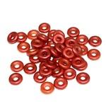 Czech O Beads Lava Red 5g