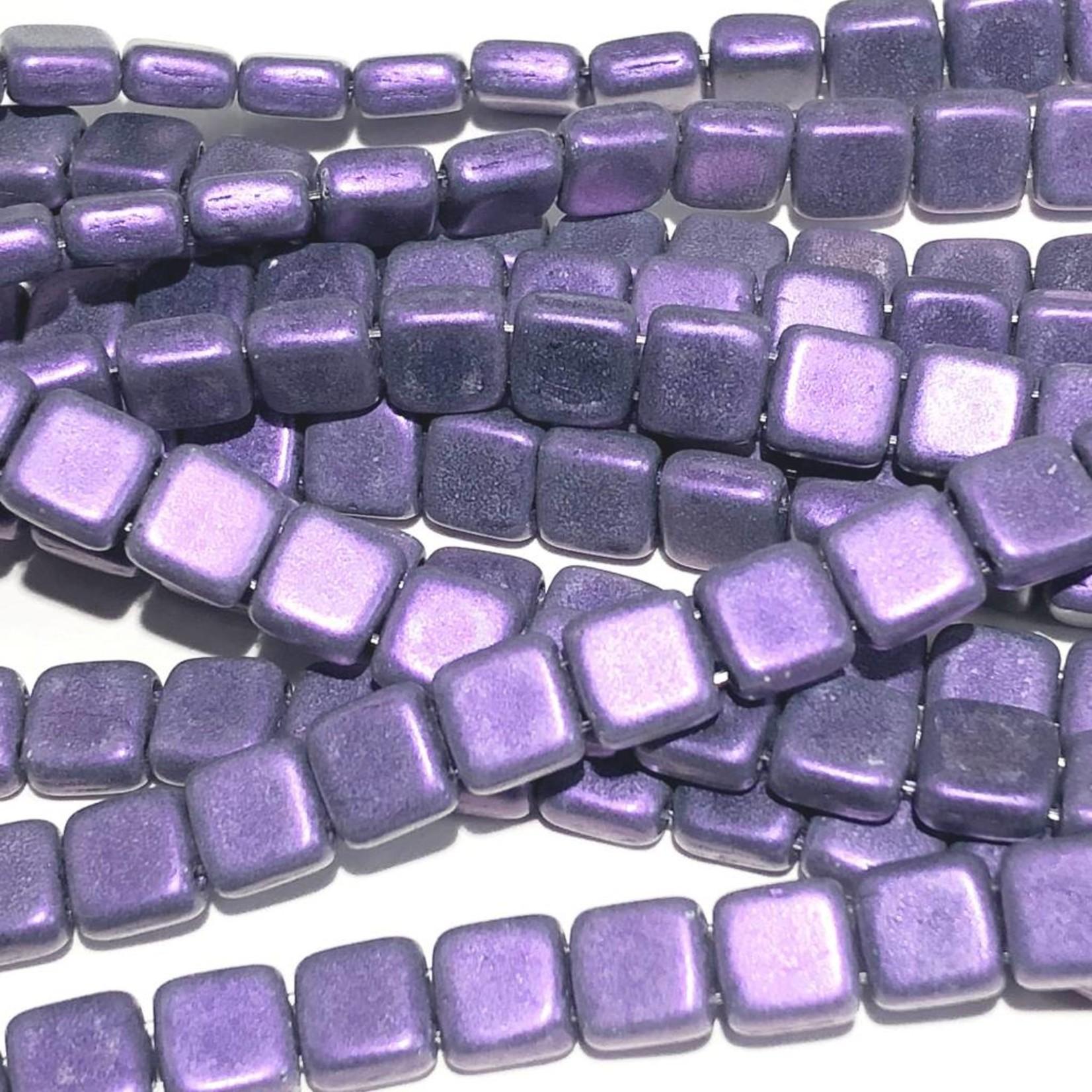 CzechMates CzechMates TILE Metallic Suede Purple