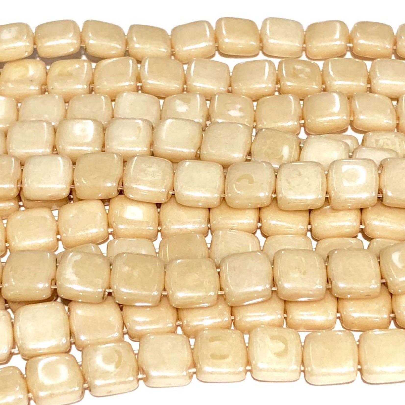 CzechMates TILE Opaque Champagne Luster