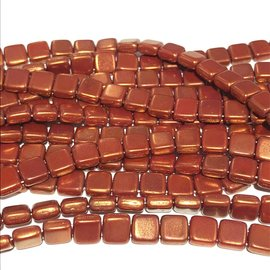 CzechMates TILE Opaque Red Patina