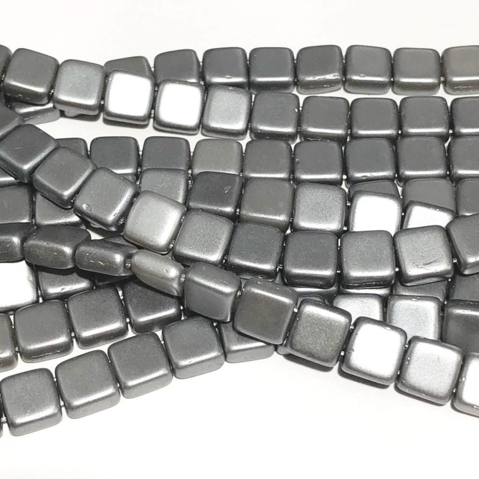 CzechMates TILE Pearl Coat Silver