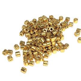 MIYUKI Delica 8-0 Duracoat Galv. Gold 10g