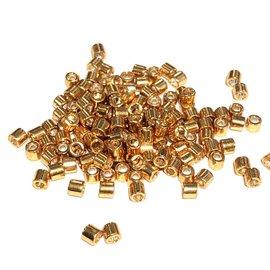 MIYUKI Delica 8-0 Galvanized Yellow Gold 10g