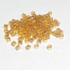 MIYUKI Delica 8-0 Trans Light Amber Lustre 10g