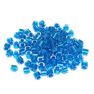 MIYUKI Delica 8-0 Sparkling Aqua Lined Crystal 10g