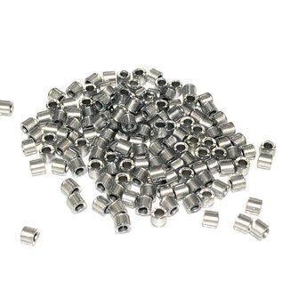MIYUKI Delica 8-0 Galvanized Crystal 10g
