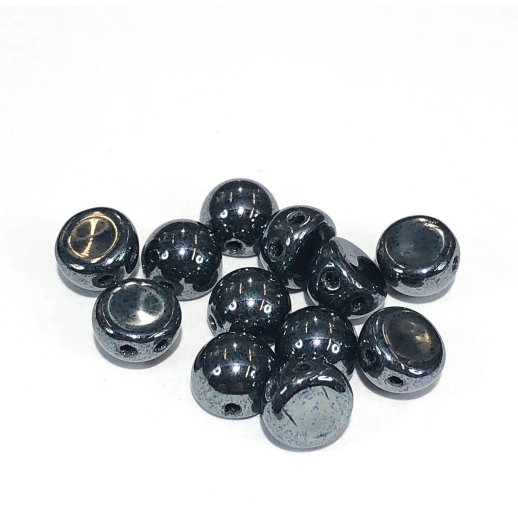 CzechMates CzechMates CABOCHON Hematite 10g