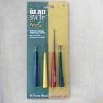 BeadSmith BEAD REAMER Set of 4