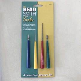 BeadSmith BEAD REAMER Set of 4