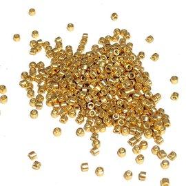 MIYUKI Delica 11-0 Duracoat Galvanized Gold 10g