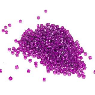 MIYUKI Delica 11-0 Lined Lilac AB 10g