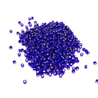 MIYUKI Delica 11-0 Silver Lined Dark Violet 10g