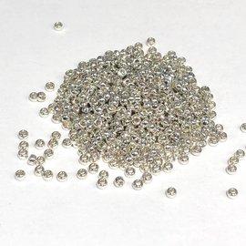 MIYUKI Rocaille 15-0 Galvanized Silver 8g