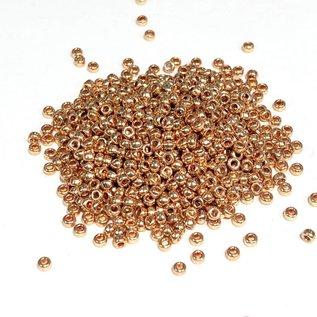 MIYUKI Rocaille 15-0 Galvanized Gold 8g