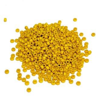 MIYUKI Rocaille 15-0 Matte Opaque Mustard 8g