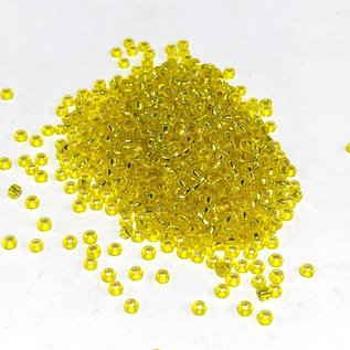 MIYUKI Rocaille 11-0 Silver Lined Yellow 25g