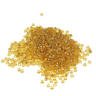 MIYUKI Rocaille 11-0 Silver Lined Gold 25g