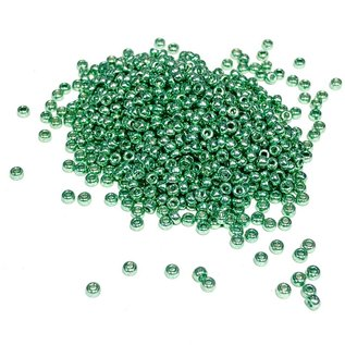 MIYUKI Rocaille 11-0 Galvanized Green 25g
