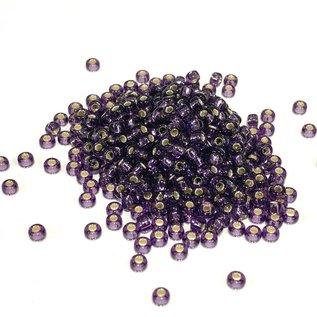 MIYUKI Rocaille 8-0 Silver Lined Amethyst 25g