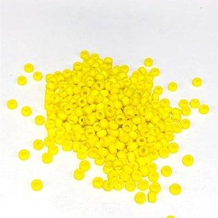 MIYUKI Rocaille 8-0 Opaque Yellow 25g