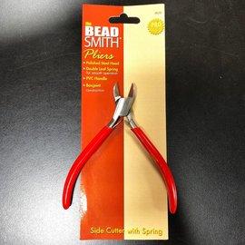 BeadSmith SlimLine Sidecutter PLIERS 120mm w/Spring