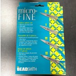 BeadSmith Micro-Fine Professional Plier Set w/Case