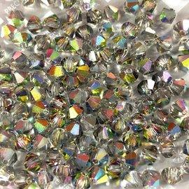 Preciosa Crystal 4mm Bicone Crystal Vitrail 2X Medium 144pcs