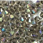 Preciosa Crystal 4mm Bicone Black Diamond AB 144pcs