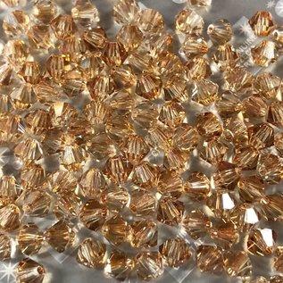 Preciosa Crystal 4mm Bicone Crystal Celsian 144pcs